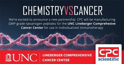 Neoantigen peptide collaboration with Lineberger Comprehensive Cancer Center